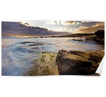 Margaret River seascape Poster