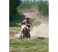 dirtbiking Photographic Print