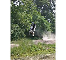 dirtbiking jump Photographic Print