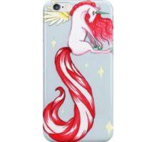 christmas unicorn iPhone Case/Skin