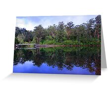 Big Brook Dam - Pemberton Western Australia Greeting Card