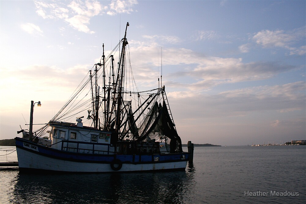 Shrimp Boat by Heather Meadows