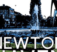 Visit Newton Haven (The World's End) Sticker