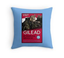 Visit Gilead (The Dark Tower) Throw Pillow