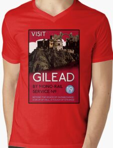 Visit Gilead (The Dark Tower) Mens V-Neck T-Shirt