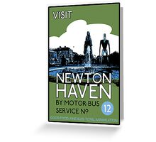 Visit Newton Haven (The World's End) Greeting Card