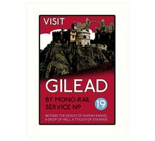 Visit Gilead (The Dark Tower) Art Print