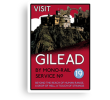 Visit Gilead (The Dark Tower) Canvas Print