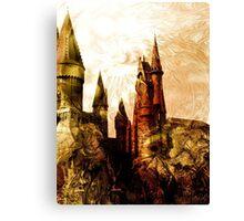 School of Magic Canvas Print