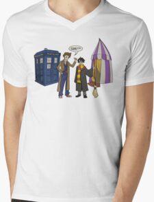 Smaller on the Outside Mens V-Neck T-Shirt