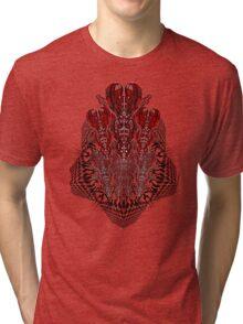 tribalheart 3-d Tri-blend T-Shirt