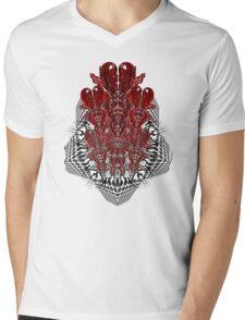 tribalheart 3-d Mens V-Neck T-Shirt