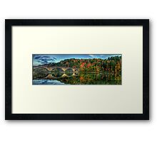 Spanning the Cumberland Framed Print