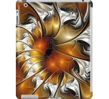 Amber Vortex iPad Case/Skin
