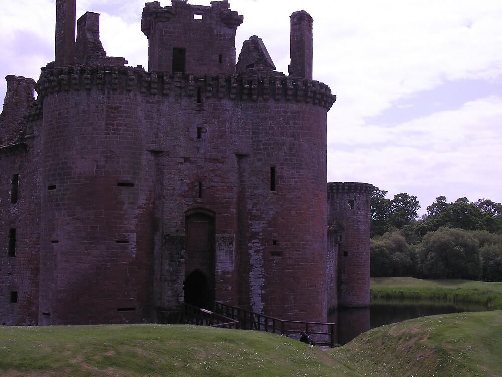 Caerlaverock Castle 2 by Maddie