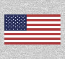 American Flag, Stars & Stripes, Pure & simple, United States of America, USA Kids Clothes