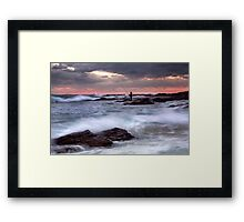 Nature surrounds Framed Print