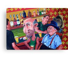At the Pub Canvas Print