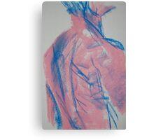 Hot Pink Marine No1 Canvas Print