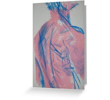 Hot Pink Marine No1 Greeting Card
