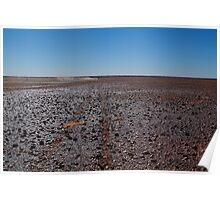 Gibber Plain,Harsh Outback Desert Poster