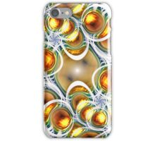 Amber Clusters iPhone Case/Skin