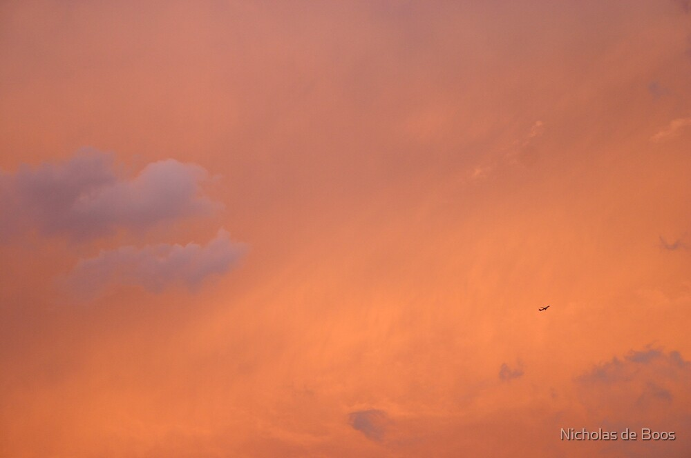 Brisbane Sunset I by Nicholas de Boos