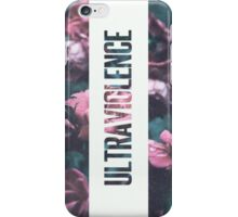 Ultraviolence Print iPhone Case/Skin