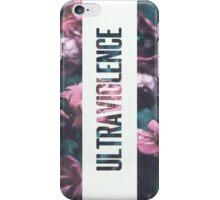 Ultraviolence Print iPhone Case/Skin