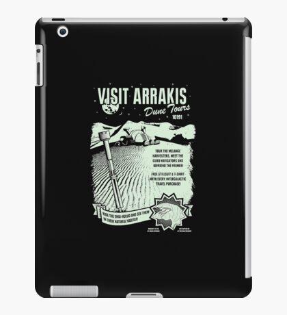 visit arrakis iPad Case/Skin