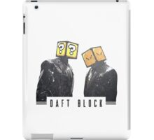 DAFT BLOCK - Super Mario World x DAFT PUNK iPad Case/Skin