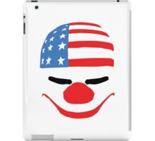 PayDay American Flag Mask iPad Case/Skin