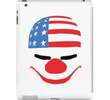 PayDay American Flag Mask iPad Case/Skin