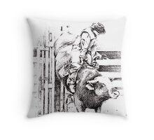 ride em Throw Pillow