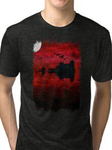 Whitby Abbey Tri-blend T-Shirt