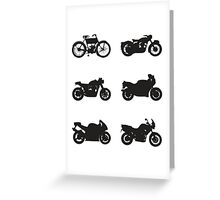 History of Triumph Greeting Card
