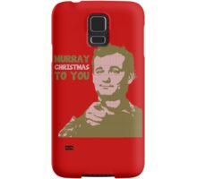 Murray Christmas to you sweater Samsung Galaxy Case/Skin
