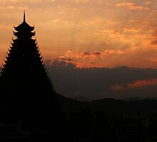 Sunset over Sanjiang by ChinaCoop