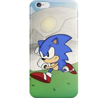 CLASSIC SONIC v DEATHEGG (Retro Design) iPhone Case/Skin