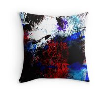 Not a happy place Throw Pillow
