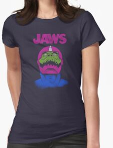 Jaws Womens Fitted T-Shirt