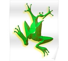 GREEN FROG, Jumping Jehoshaphat! Help! its the Green frog! Poster