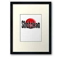 Shotokan, Karate, Japanese, Empty Hand, Fighting Art, Japan & Okinawa Framed Print