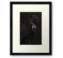 Night Horse Framed Print