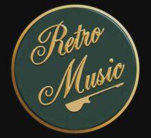 Retro Music   Kids Tee