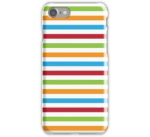 Multicoloured Stripes iPhone Case/Skin