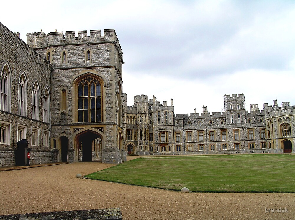 Windsor Castle, UK, Europe by brendak