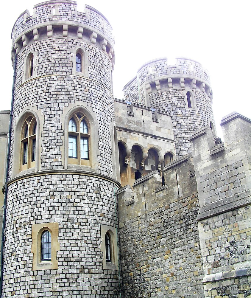 Windsor Castle, UK, Europe by brendak