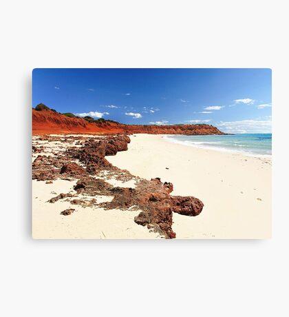 Cape Peron - Shark Bay Western Australia  Canvas Print