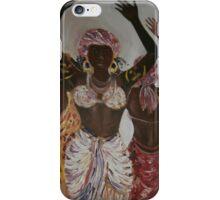 African Dance Trio iPhone Case/Skin